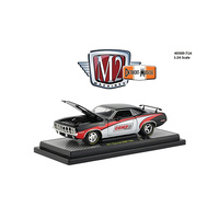 M2 Machines 1/24 COMP Cams 1971 Plymouth Hemi Cuda Detroit Muscle