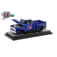 M2 Machines 1/24 1956 Ford F100 Truck VP Racing Diecast Car
