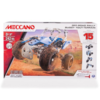 Meccano Engineering 15 Model Set Side by Side ATV