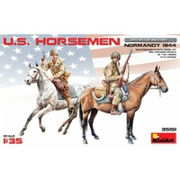 Miniart 1/35 U.S. Horsemen. Normandy 1944 35151 Plastic Model Kit