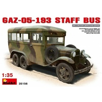 Miniart 1/35 GAZ-05-193 Staff Bus