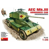 Miniart 1/35 AEC Mk 3 Armoured Car 35159 Plastic Model Kit