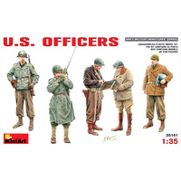 Miniart 1/35 U.S.Officers 35161 Plastic Model Kit