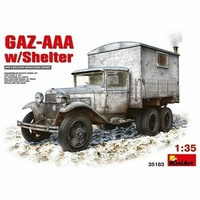 Miniart 1/35 GAZ-AAA with Shelter 35183 Plastic Model Kit