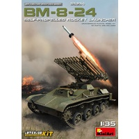 Miniart 1/35 BM-8-24 Self-Propelled Rocket Launcher. Interior Kit 35234 Plastic Model Kit