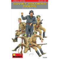 Miniart 1/35 Soviet Soldiers Riders. Special Edition 35281 Plastic Model Kit
