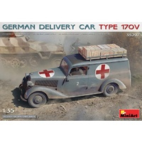 Miniart 1/35 German Delivery Car Type 170V Plastic Model Kit