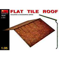 Miniart 1/35 Flat Tile Roof 35518 Plastic Model Kit