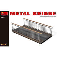 Miniart 1/35 Metal Bridge 35531 Plastic Model Kit