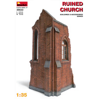 Miniart 1/35 Church Ruin 35533 Plastic Model Kit