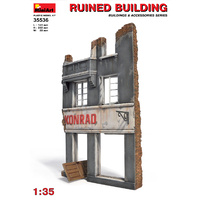 Miniart 1/35 Ruined Building