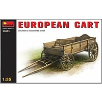 Miniart 1/35 European Cart 35553 Plastic Model Kit