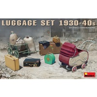 Miniart 1/35 Luggage Set 1930-40s 35582 Plastic Model Kit