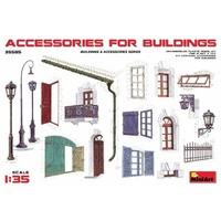 Miniart 1/35 Accessories for Buildings 35585 Plastic Model Kit