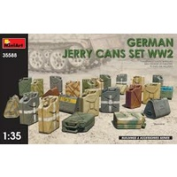 Miniart 1/35 German Jerry Cans Set WW2 35588 Plastic Model Kit