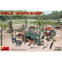 Miniart 1/35 Field Workshop 35591 Plastic Model Kit