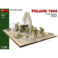 Miniart 1/35 Poland 1944. 36004 Plastic Model Kit