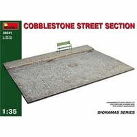 Miniart 1/35 Cobblestone Street Section 36041 Plastic Model Kit