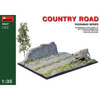 Miniart 1/35 Country Road 36047 Plastic Model Kit