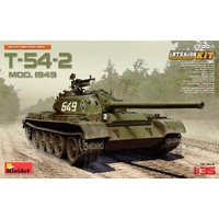 Miniart 1/35 T-54-2 Mod. 1949 Interior Kit 37004 Plastic Model Kit