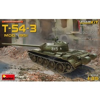 Miniart 1/35 T-54-3 Mod. 1951 Interior Kit 37007 Plastic Model Kit