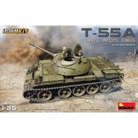 Miniart 1/35 T-55A Late Mod. 1965 Interior Kit 37022 Plastic Model Kit