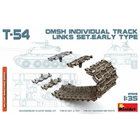 Miniart 1/35 T-54 OMSh Individual Track Links Set.Early Type 37046 Plastic Model Kit