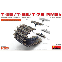 Miniart 1/35 T-55/T-62/T-72 RMSh Workable Track Links Set.Late Type 37052 Plastic Model Kit