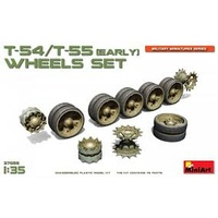 Miniart 1/35 T-54/T-55(Early) Wheels Set 37056 Plastic Model Kit