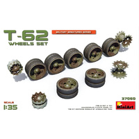 Miniart 1/35 T-62 Wheels Set 37060 Plastic Model Kit