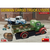 Miniart 1/35 German Cargo Truck L1500S Type