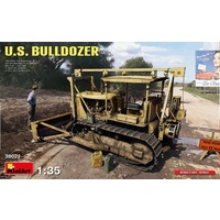 Miniart 1/35 U.S. Bulldozer 38022 Plastic Model Kit
