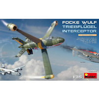 Miniart 1/35 Focke-Wulf Triebflugel Interceptor 40002 Plastic Model Kit
