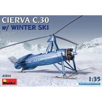 Miniart 1/35 Cierva C.30 with Winter Ski 41014 Plastic Model Kit