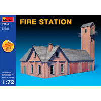 Miniart 1/72 Fire Station 72032 Plastic Model Kit