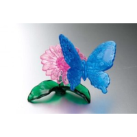 Mag-Nif 3D Blue Butterfly Crystal Puzzle MAG-90122