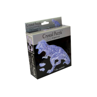 Mag-Nif 3D Clear T-Rex Crystal Puzzle MAG-90134