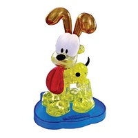 Mag-Nif 3D Clear Odie Crystal Puzzle