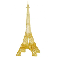 Mag-Nif 3D Golden Eiffel Tower Crystal Puzzle MAG-91107