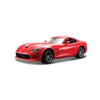 Maisto 1/18 Dodge Viper 2013 - Red - Diecast