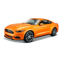 Maisto 1/18 Ford Mustang Coupe 2015 - Met Orange - Diecast