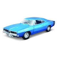 Maisto 1/18 1969 Dodge Charger R/T - Blue
