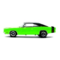 Maisto 1/18 Design Classic Muscle 1969 Dodge Charger R/T - Diecast