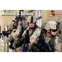 Mars 72003 1/72 Modern US soldiers Plastic Model Kit