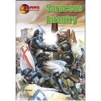 Mars 72005 1/72 Saracens Infantry Plastic Model Kit