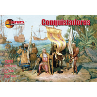 Mars 1/72 Conquistadores 72019 Plastic Model Kit