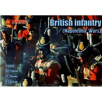 Mars 1/72 English Napoleonic infantry 72025 Plastic Model Kit