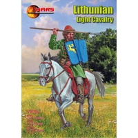 Mars 72056 1/72 Lithunian Light Cavalry Plastic Model Kit