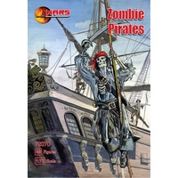 Mars 72070 1/72 Zombies - Pirates Plastic Model Kit