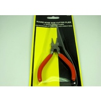 Maxx Pliers round nose 5 w/ side cutter MAX-61018